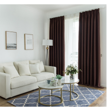Curtains Nordic Style Curtains Finished Shade Bedroom Curtains Living Room Thickened Full Shade Curtains