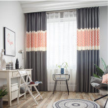 Simple Modern style curtains