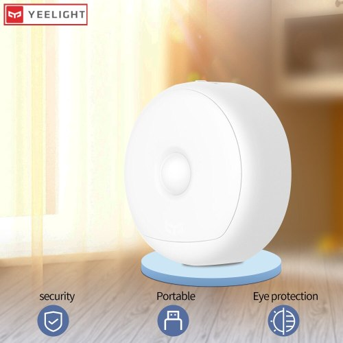 Yeelight night light moon light led bulb with motion sensor smart light movement control child bed lights