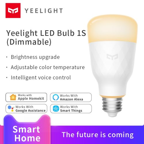 Yeelight LED Bulb 1S Dimmable Smart home Dimmable wifi Voice App Control support Apple HomeKit Amazon alexa Google assistant