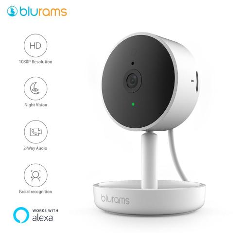 blurams Home Pro, Security Camera 1080p FHD AI Facial Recognition Wireless WIFI Webcam CCTV Surveillance IP-Camera System