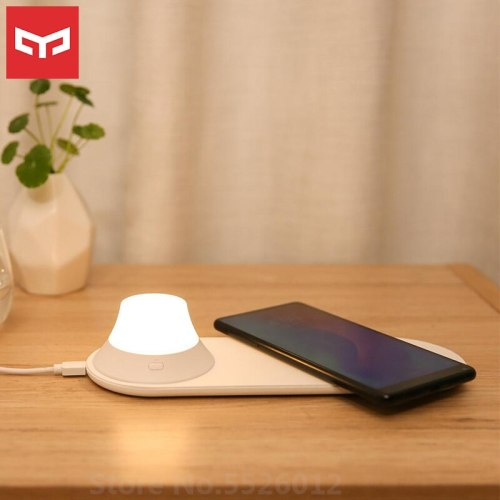Yeelight Wireless Charger Night Light with LED Light Magnetic Attraction Fast Charging For Xiaomi phones