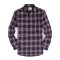 Mens Casual Button Down Regular Fit Flannel Shirts Navy 208-257