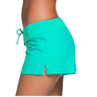 Womens Swimwear Shorts Beach Boardshort Trunks,Green