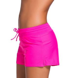 Womens Swimwear Shorts Beach Boardshort Trunks,Rose