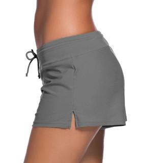 Womens Swimwear Shorts Beach Boardshort Trunks,Grey