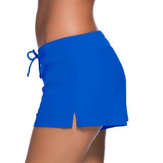 Womens Swimwear Shorts Beach Boardshort Trunks,Royal Blue