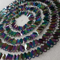 Wholesale  500pcs Large Size Holographic Iridescent Dragon Scale,ScaleMaille,Scale Mail Armor,Chainmaille,Mermaid Scale,Scale Maille Supplies