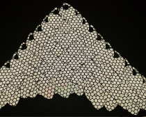 100pcs Large Silver Reflective Fux Leather Dragon Scale Handmade Rainbow Holographic ScaleMaille Maille Chainmaille Mermaid Scale