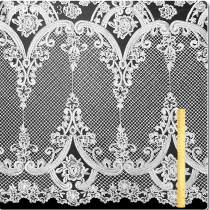 5 Yards High Quality Wedding Bridal Embroidery Lace Mesh Fabric