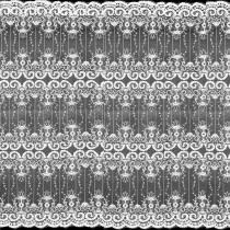 5 Yards Wedding Bridal Geometric Embroidery Lace Mesh Fabric