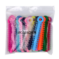 sale! 1014pcs/pack Dental Orthodontic ligature ties (multi-color )