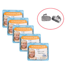 5 boxes Dental orthodontic non-convertible Roth 022 bucca tube 1st molarFor orthodontic treatment 50sets/box