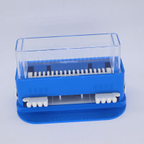 Plastic Dental cotton dispenser micro brush dispenser with 100pcs micro brush