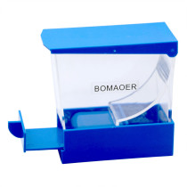 Dental Storage Box Dentist Cotton Roll Dispenser Holder Draw-out Type Blue Color