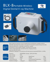 Dental Wireless BLX-8 Oral X-ray Machine portable Rechargeable Digital Frequency