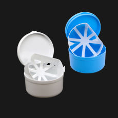 2 pcs Denture Storage Box Protective Dental False Teeth Case container network