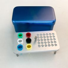 Dental 36 holes disinfection box for endo files and Gutta Percha Points autoclav