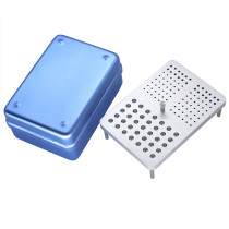 Dental 131 holes Disinfection box for burs endo files and polisher 3 use autocla
