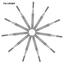 100pcs Dental Burs Tungsten Carbide FG1958 for High Speed Handpiece 10pcs/box