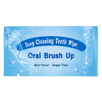 100X Oral Brush Up Teeth Deep Cleaning Teeth Wipes Teeth Whitening Dental Wipes
