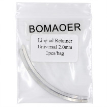 10 packS Dental Orthodontic Lingual Retainer Universal 2.0mm 2pcs/bag