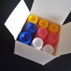50 PCS Dental Disposable plastic dappen dish Acrylic Prophy Four Colors