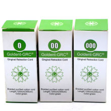 5sets Dental Goldent -GRC Gingival Retraction Cord size 0 00 000 Germany