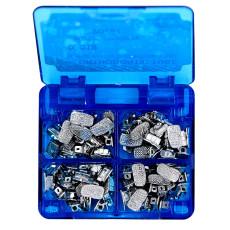 20 kits Dental orthodontic 2nd molar bonding buccal tube Roth 018 monoblock CE