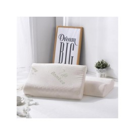 Ambra Green Relief Bamboo Pillow