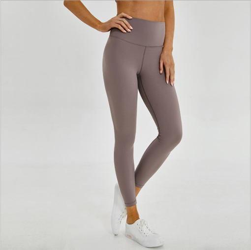 Solid color high waist leggings