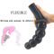 Giant Rippled Dildo Butt Plug With Handle Sex Toy For Women Couples