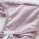 Women's 4 Colors Pack Cute Underwear Breathable Panties Brief Lingerie Perfect Gift For Ladies