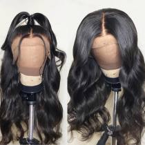 Wholesale Price Body Wave Virgin Hair Brazilian Hair Wig Good Quality Front 6 inch 360 Lace wig ,full lace wig