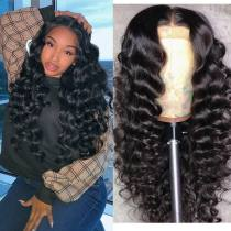 Wholesale Price Deep Curly Hair Good Quality Virgin Brazilian Hair Lace Front Wigs,360 Lace wig ,full lace wig