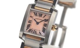 カルティエコピー時計 タンクフランセーズ SM クォーツムーブメント W51027Q4