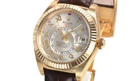ロレックス時計コピー スカイドゥエラーCal.9001自動巻きムーブメント搭載 326138