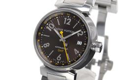 ルイ・ヴィトンコピー時計 タンブールGMT 自動巻きムーブメント搭載 タイム表示 Q11313