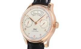 IWC ポルトギーゼ アニュアルカレンダー Cal.52010自動巻きムーブメント 28800振動/時 IW503504