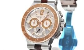 ブルガリコピー時計 ディアゴノ カリブロ303 自動巻きムーブメント DG42C6SPGLDCH