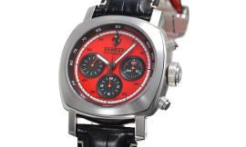 パネライ時計コピー フェラーリ ETA7753自動巻き搭載 28800振動/時 グラントゥーリズモクロノ FER00013