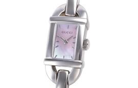 グッチ時計コピー 6800 ピンク文字盤 クォーツムーブメント搭載 YA068581