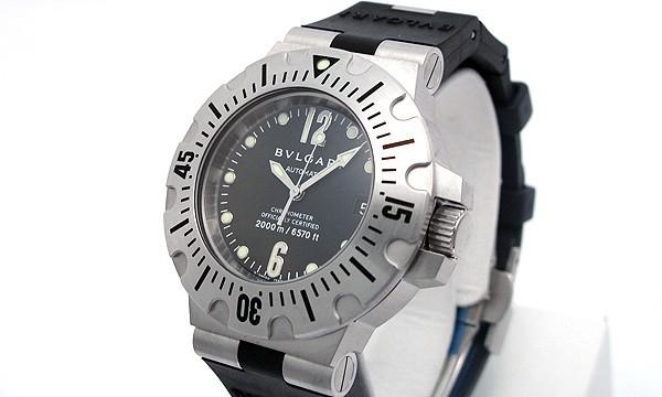 ブルガリコピー時計 ディアゴノ プロフェッショナル スクーバダイビング2000 自動巻きムーブメント SD42SVD