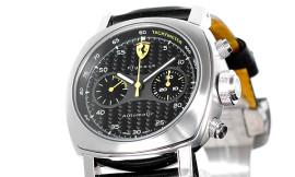 パネライ時計コピー フェラーリ ETA7750自動巻き搭載 28800振動/時 スクデリア フライバッククロノ FER00014