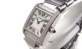 カルティエコピー時計 タンクフランセーズ SM クォーツムーブメント W50012S3