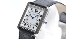 カルティエコピー時計 タンクソロ LM クォーツムーブメント W5200003