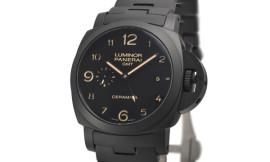 パネライスーパーコピー ルミノール1950 3デイズ GMT トゥットネロ Cal.P.9001/B自動巻き搭載 PAM00438