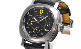 パネライ時計コピー フェラーリ Cal.P.2003/5自動巻き搭載 28800振動/時 スクデリア 10デイズ GMT FER00022