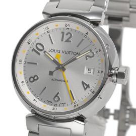 ルイ・ヴィトンコピー時計 タンブールGMT 自動巻きムーブメント搭載 デイト表示 Q113M