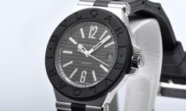 ブルガリコピー時計 ディアゴノ ラバー 自動巻きムーブメント DG40BSVD